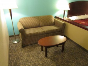 Executive Inn & Suites Wichita Falls - Sofa Beds in King Rooms